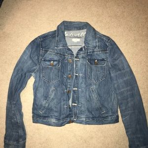 Madewell Cropped Jean Jacket